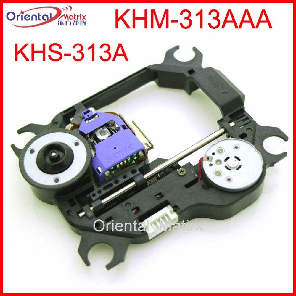 Бесплатная доставка оригинальный KHS-313A KHM-313AAA Оптический Пикап механизм KHM313AAA DVD лазерный блок объектива Оптический Пикап