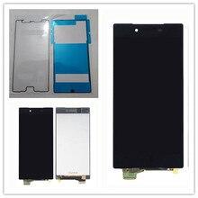 ЖК-дисплей JIEYER 5,5 дюйма для SONY Xperia Z5 Premium, кодирующий преобразователь сенсорного экрана в сборе с рамкой, Z5 PLUS E6853 E6883 + клей
