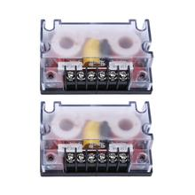 2 pz/pacco 2 Way Car Audio Divisore di Frequenza Audio Altoparlante Woofer Onda Filtro 200 W Filtro di Crossover Altoparlante Frequenza Divisori