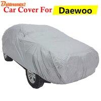 Buildreamen2 Car Cover For Daewoo Leganza Espero Kalos Lacetti Lanos Sun Shade Snow Rain Scratch Dust Protection Anti-UV Cover