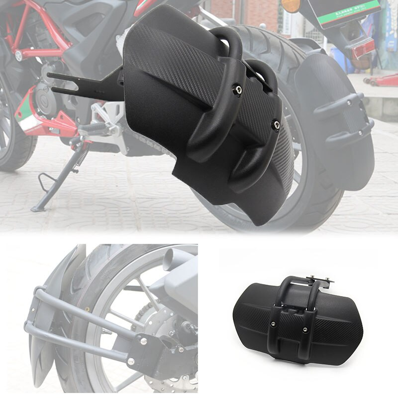 Acessórios da motocicleta de alumínio traseiro fender suporte moto paralama para yamaha mt03/mt07/mt09/mt10/mt125/xjr1300