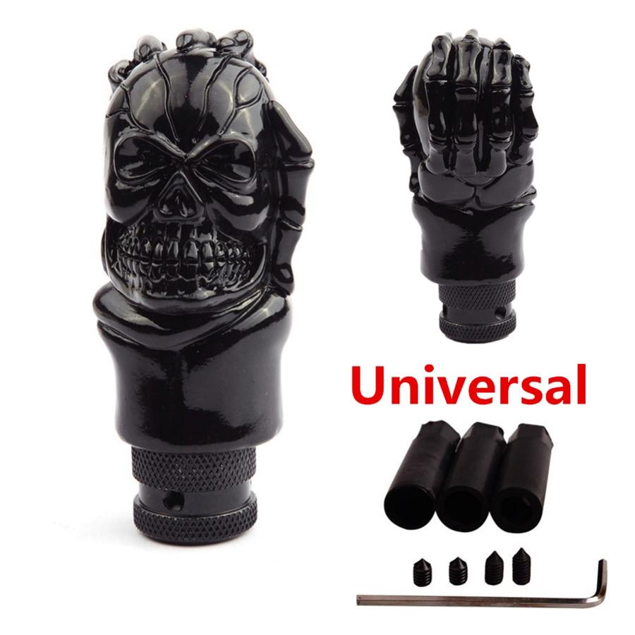 AliExpress - Universal ABS Skull Head Car Gear Shifter Knob Skull Shifter Lever Fit For Manual Transmission