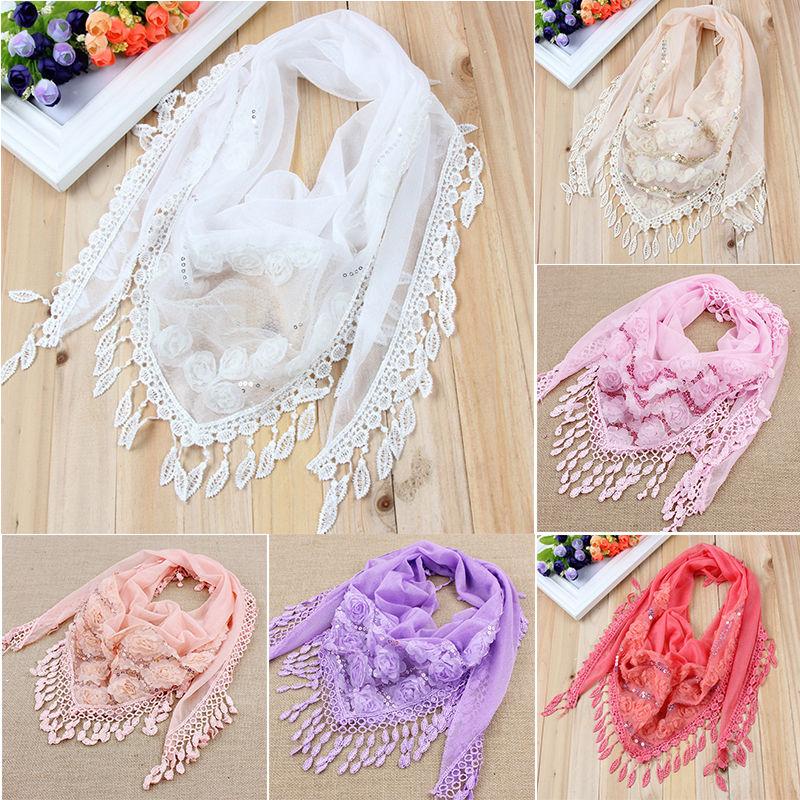 c1pcs/lot  spring and autumn silk scarf women's embroidered trigonometric cape scarf bib tassel 150*50cm