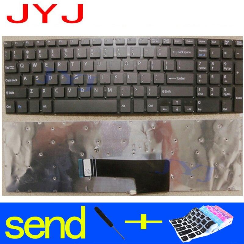 Nuevo teclado de ordenador portátil para SONY VAIO Fit 15 fit15 SVF15 enviar una película protectora transparente