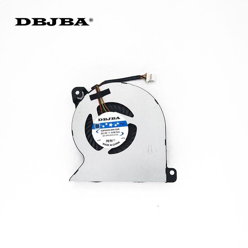 Portátil ventilador de refrigeración de la CPU para HP ProBook 455 440 G2 450, 445 de 470 G2 767433-001 MF60070V1-C350-S9A Fan