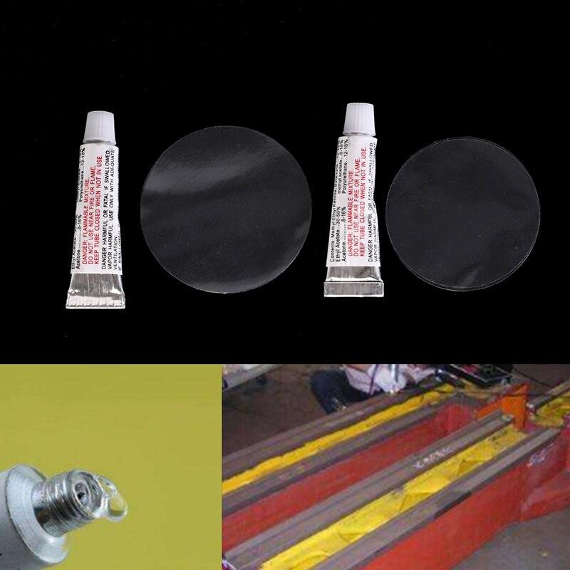 2Pcs/Lot Repair glue Intex repair package Pool & Accessories Repair glue Overhaul patch + glue Inflatable bed pool boat sofa