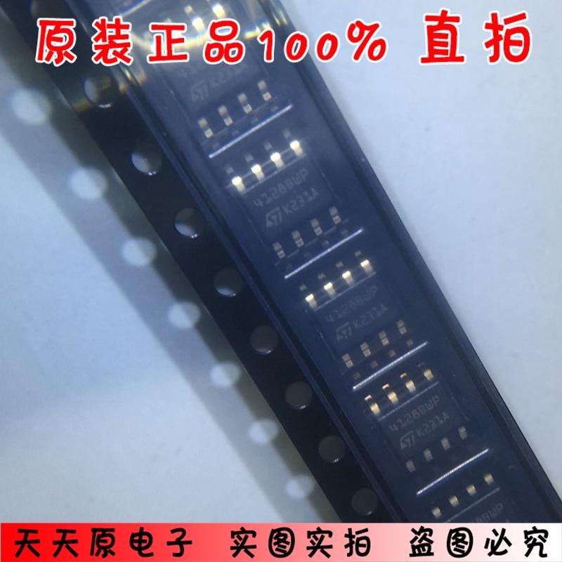 M24128-BWMN6TP pantalla de seda 4128BWP SOP8 original