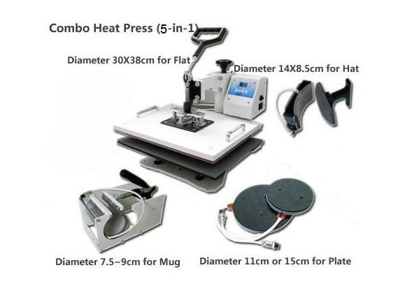 5 in 1 heatpress machine enlarge