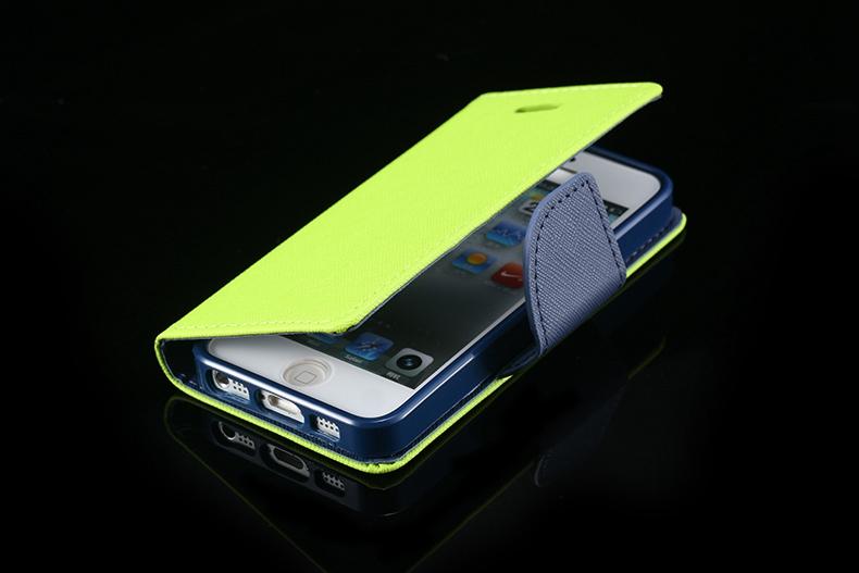 Kisscase dla iphone 4s przypadki nowy hit kolor skóry ultra odwróć case dla iphone 4 4s 4g wizytownik stań pokrywy torby telefon komórkowy 26