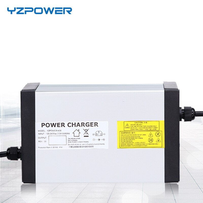 Зарядное устройство YZPOWER 24 S, 87,6 в, 8A, 7A, 6A, 5A, с 4 вентиляторами