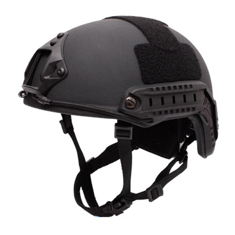 Ballistic helmet aramid INJ IIIA FAST fast riot self defense Military Tactics bullet proofof