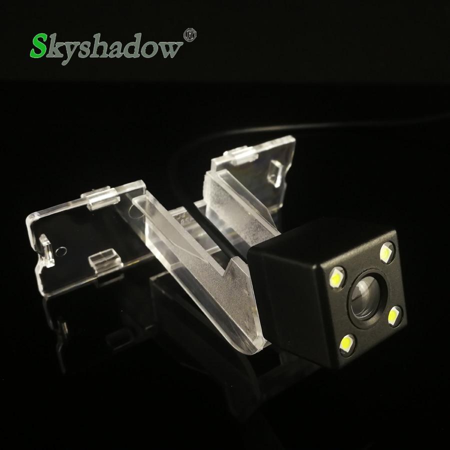 HD Auto CCD 4 LED Nachtsicht Fahrzeug Backup Parkplatz Wasserdichte Rückansicht Umkehr Kamera Für Suzuki Swift