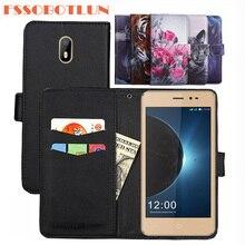 FSSOBOTLUN For Leagoo Z6 Case PU Leather Retro Flip Cover Shell Magnetic Fashion Wallet phone Cases