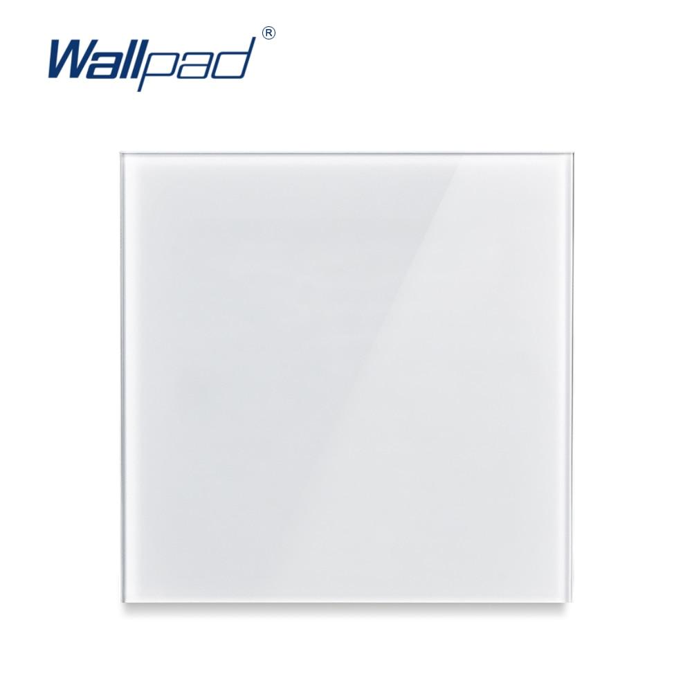 Wallpad Panel de vidrio de cristal de pared en blanco Panel de llenar el espacio en blanco de la pared No función
