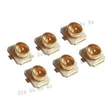 Usine de vente 10 pièces IPX U.FL RF Coaxial   Cms à souder, SMT prise de montage PCB femelle et pour IPEX/U.FL livraison rapide