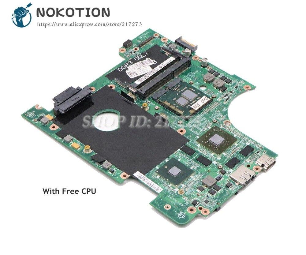 NOKOTION para Dell Inspiron 14R N4010 placa base de computadora portátil HM57 DDR3 HD5650M 1 GB CPU DAUM8CMB8C0 CN-0951K7 0951K7