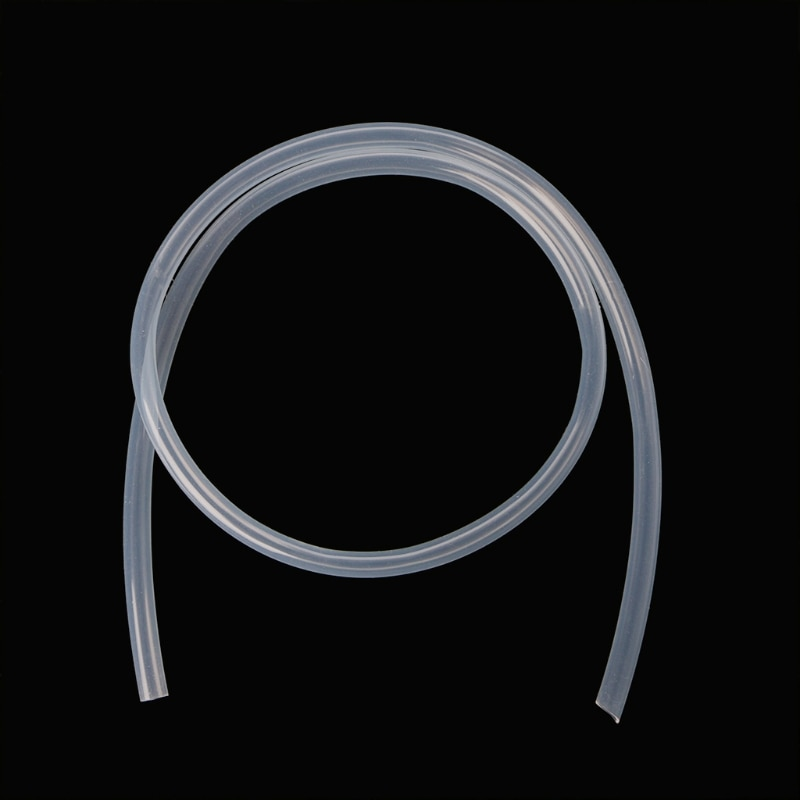 8mm x 10mm food grade silicone rubber flexible garden tube water hose plumbing hoses 8mm ID x 10mm OD Food Grade Silicone Tube Flexible Hose Pipe 1m Transparent