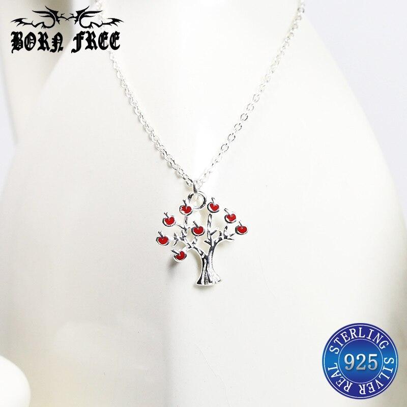 925 silver pendentif pendant tree of life necklace women choker collier jewelry making colar feminino ketting necklaces pendants