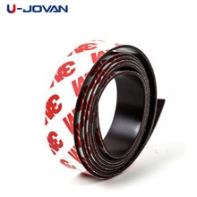 1 metro 15*1mm banda magnética de goma Flexible autoadhesiva cinta imán ancho 15mm grosor 1mm