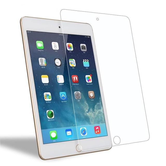 2 stks/partij Gehard Glas Screen Protector Tablet Case voor Apple IPad 9.7 inch 2018 Volledige Cover Glas Smart Cases