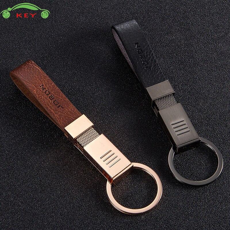 Car Accessories Men Keychain for Business Gift Microfiber Auto Keyring for Honda Subaru Jaguar Nissan Mitsubishi Audi Key Holder