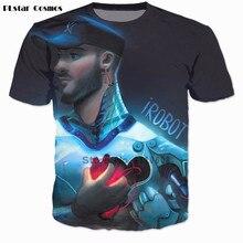 T-shirt PLstar Cosmos 3 d femmes hommes t-shirt décontracté tous les temps bas chemises New York Soul hauts le bon en moi t-shirts iRobot t-shirt