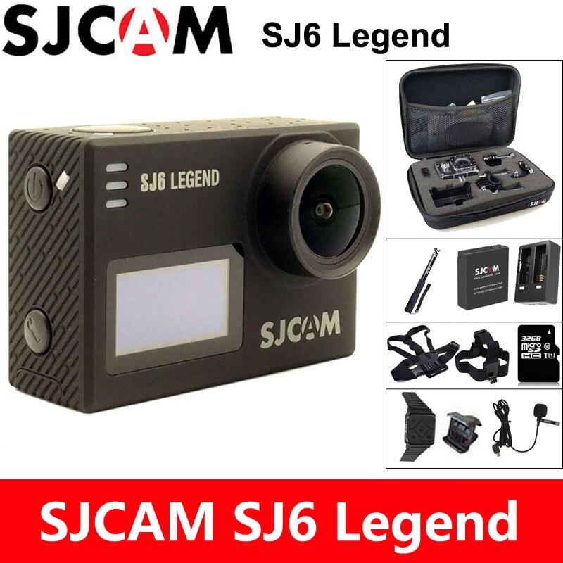 SJCAM SJ6 Легенда экшн камера 4 К Спорт DV Wi-Fi 30 м Водонепроницаемый 1080 P Ultra HD 2