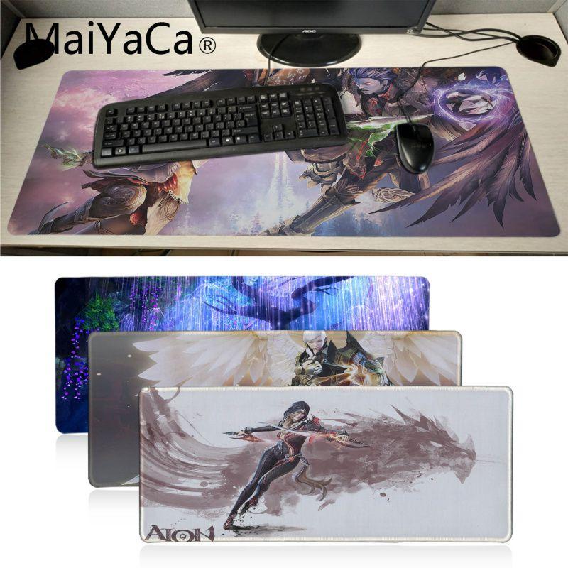 Maiyaca aion gamer escritório camundongos gamer gaming mouse pad durável retângulo de borracha macia mousemat computador computador notebook tapetes