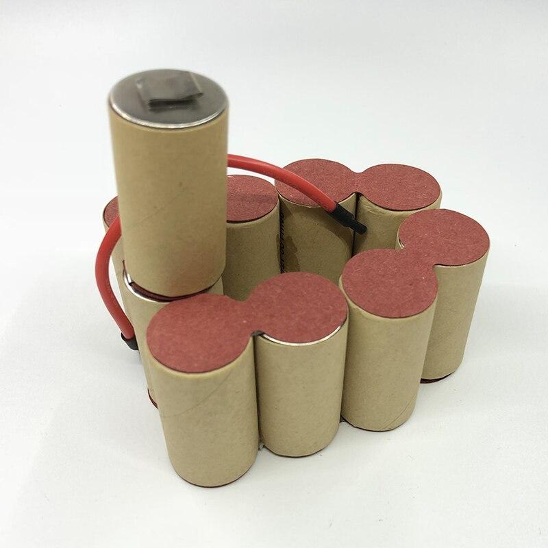 Para kress 12 v 3000 mah ni mh sc bateria 120 ab ascd asmh auto-instalação ferramenta elétrica