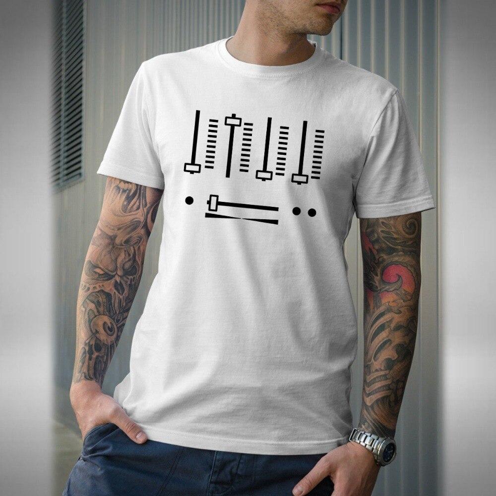 Camiseta mezcladora Dj Dance Music House Techno Dnb Jungle Rave Festival 2019, camisetas divertidas de verano para hombre