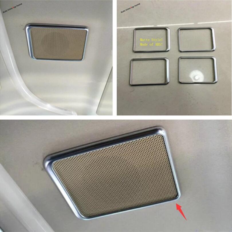 Yimaautotrims techo altavoz estéreo de sonido de Audio cubierta Trim para Toyota Alphard/Vellfire AH30 2016-2019 Interior molduras