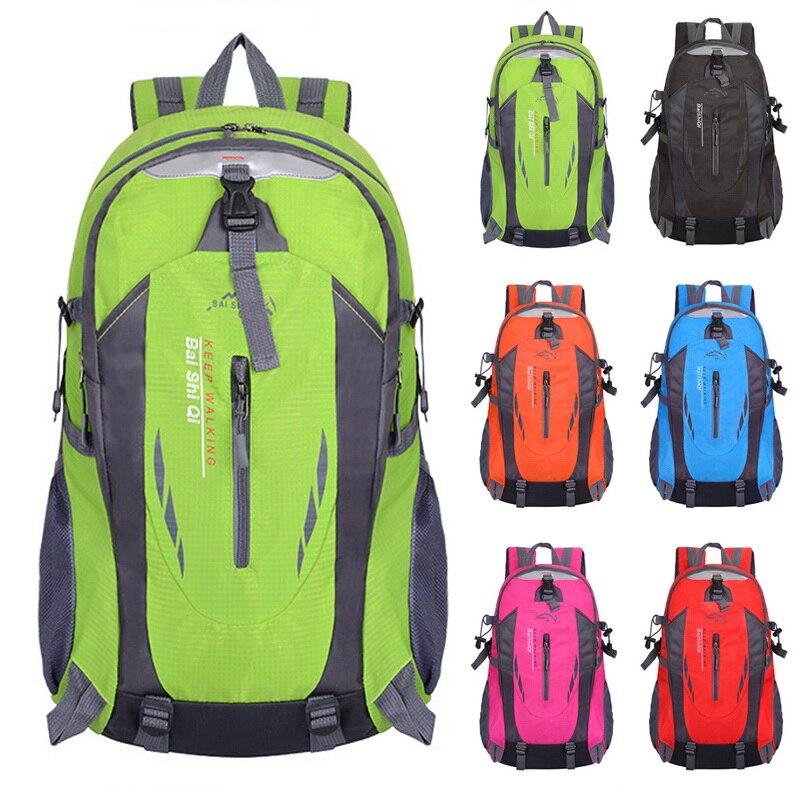 Litthing, mochila de viaje impermeable de 40L para hombre, mochila para senderismo, ciclismo al aire libre, mochilas deportivas antirrobo, mochila de escalada, mochila