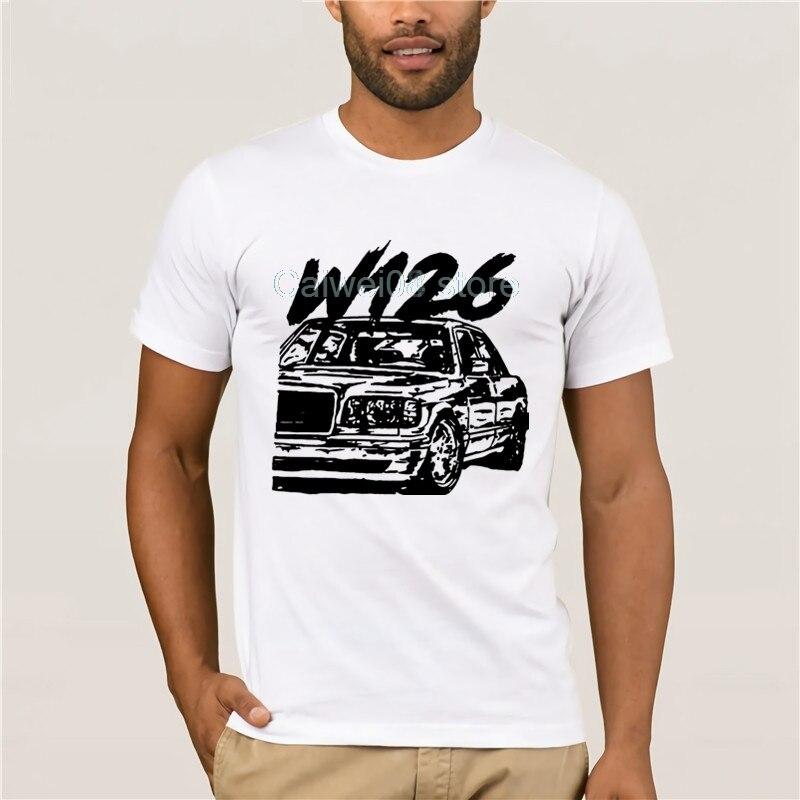 Dropshipping w126 camiseta de hombre de marca de moda de gran tamaño, camiseta de compresión, Tops de verano, camisetas de mujer, camiseta personalizada