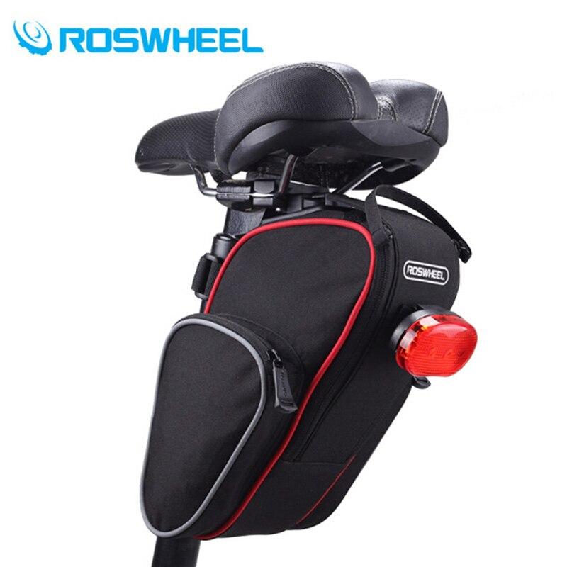 ROSWHEEL odkryty jazda na rowerze rower górski tylnym siedzeniu torba rowerowa tylna torba siodełko do roweru torba akcesoria rowerowe ogon pokrowiec pakiet
