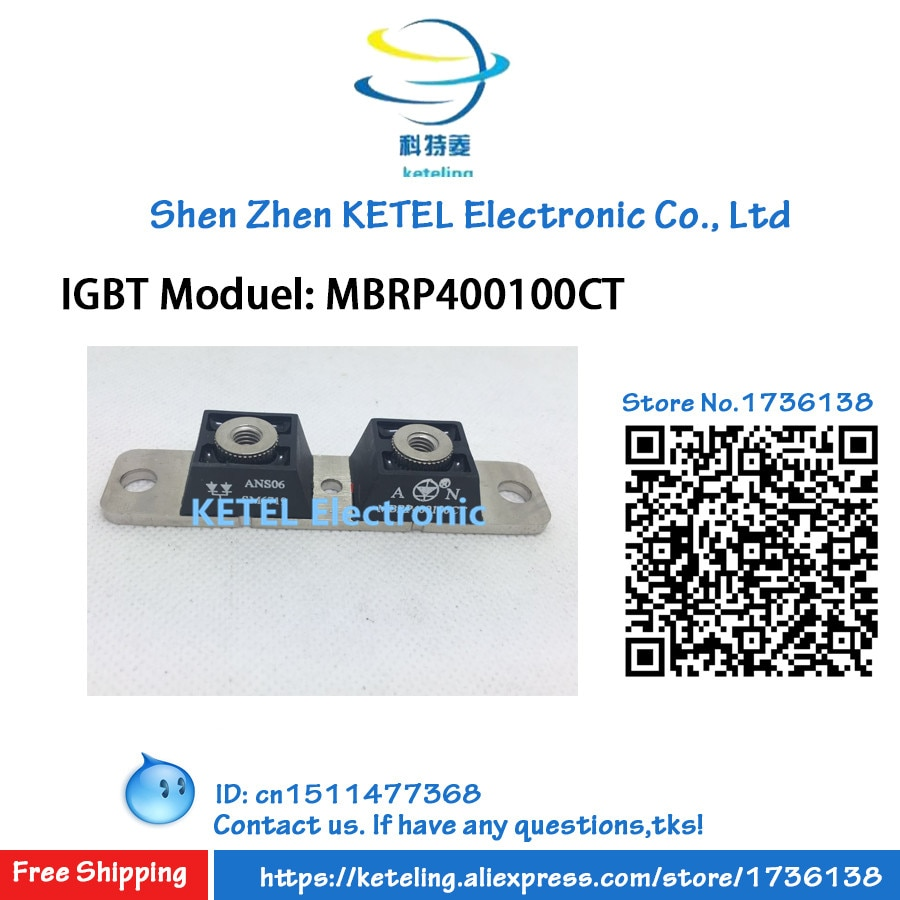 Freeshipping MBRP400100CT IGBT module