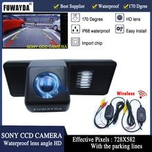 FUWAYDA Wireless SONYCCD Chip Car RearView Mirror Image CAMERAfor Mercedes-Benz Vito Viano/B Class MPV/Sprinter With Guide Line