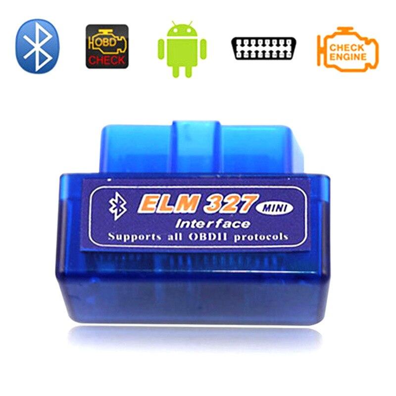 Calidad Superior Mini ELM327 V1.5 Bluetooth OBDii/ OBD2 CANBUS escáner de soporte