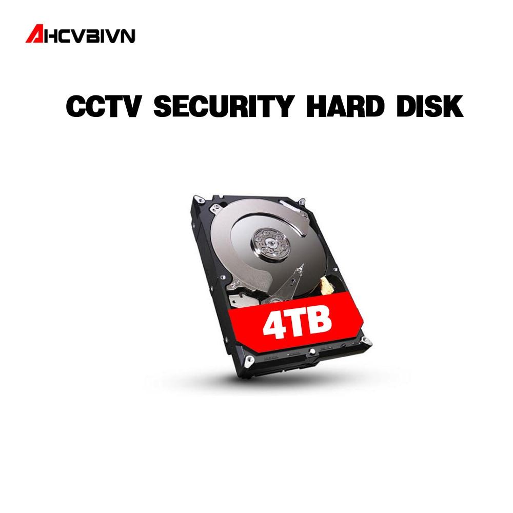 AHCVBIVN unidad de disco duro SATAIII de 3,5 pulgadas 4 TB HDD 64 MB 7200 rpm para cámara CCTV sistema DVR NVR vigilancia Kits