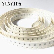 100 unids/lote resistencia SMD de tipo Chip 0603 de 5% a 680 K 750 K 820 K 910 K ohm
