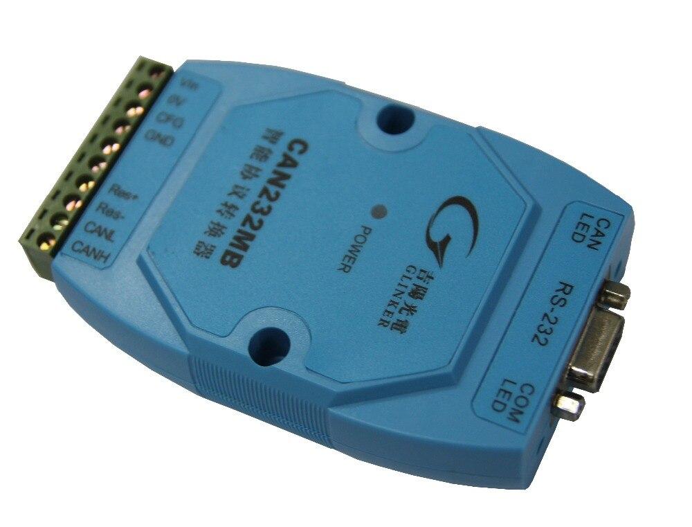 GY8502 CAN-232MB بروتوكول تحويل المدمج في المعالج بشفافية يحول RS232 إلى يمكن