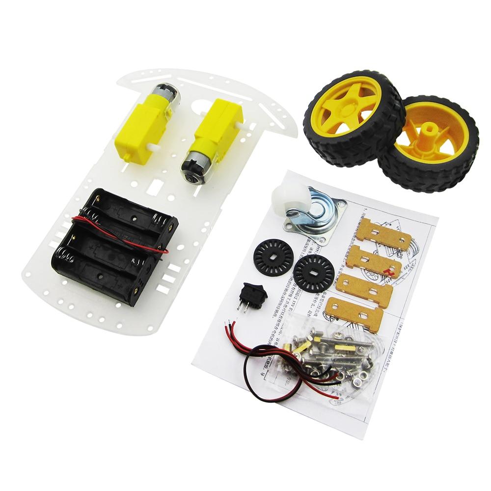 Aliexpress - 2WD Smart Robot Chassis Kit