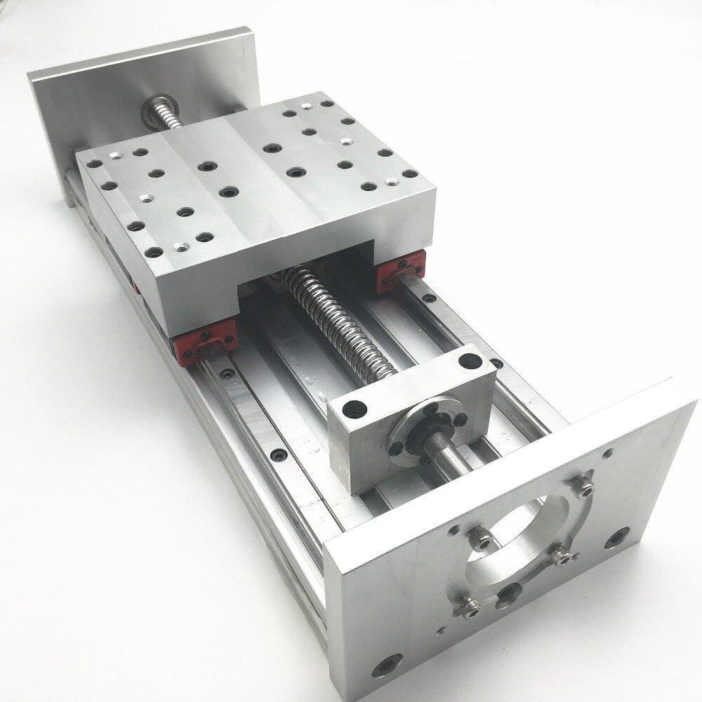 1 مجموعة Asembled CNC Z محور المحرك 200 مللي متر السفر الحمل الثقيل CNC DIY طحن الحفر دعم Nema23 و Nema34 المحرك