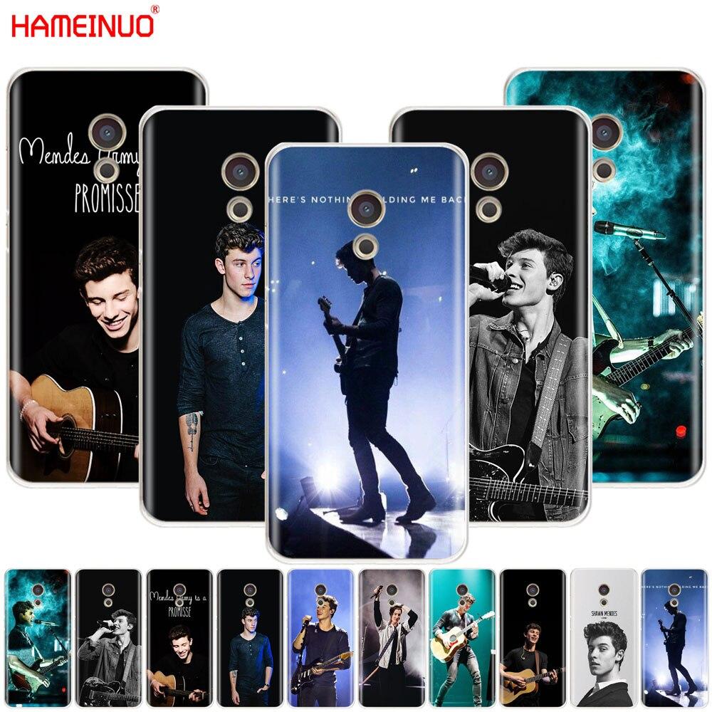 HAMEINUO a la cantante de pop Shawn Mendes quinto cubierta del teléfono para el Meizu M6 M5 M5S M2 M3 M3S MX4 MX5 MX6 PRO 6 5 U10 U20 nota plus