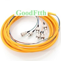 Fiber Pigtail FC/UPC 6 Cores SM Distribution GoodFtth 1-15m