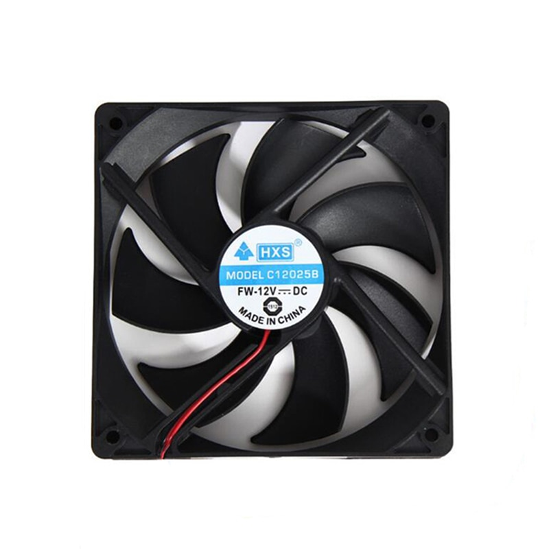 Hot-sale BINMER Compuer Fan Cooler 120*120mm 1800PRM 4 Pin 12V DC Brushless PC Computer Computer Case Cooling C725
