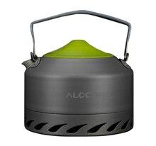Alocs Ultralight Outdoor Water Kettle Camping Coffee Kettle Travel Tea Pot CW-K07 Free Shipping