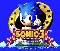 Sonic The Hedgehog 3 Game Cartridge Newest 16 bit Game Card For Sega Mega Drive / Genesis System