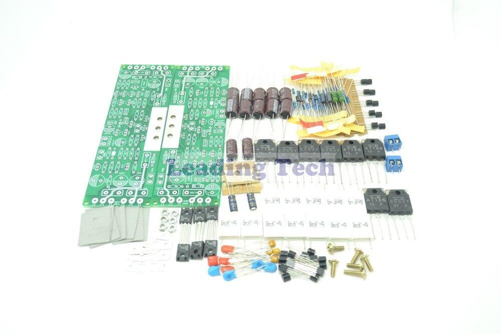 120W + 120W L12-2 Kit de amplificador de potencia de doble canal de alta calidad DIY