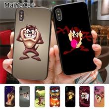 Maiyaca Looney Tunes Tasmanian Devil Taz Telefoon Case Voor Iphone 11 Pro X 8 7 6 6S Plus 5 5S Se Cass