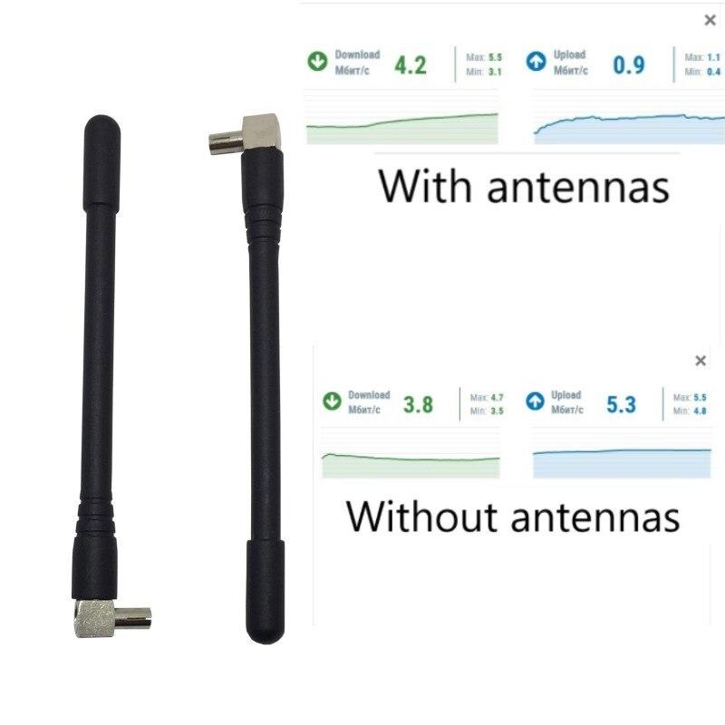 Antena 4G router 4G anteny zewnętrznej TS9 złącze modem Wi-Fi bezprzewodowy antenne 2 sztuk dla Huawei E5573 E8372 E5577 4G LTE Aeria